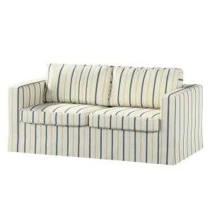 Pokrowiec na sofę Karlstad 2-osobową nierozkładaną długi Sofa Karlstad 2-osobowa w kolekcji Avinon, tkanina: 129-66