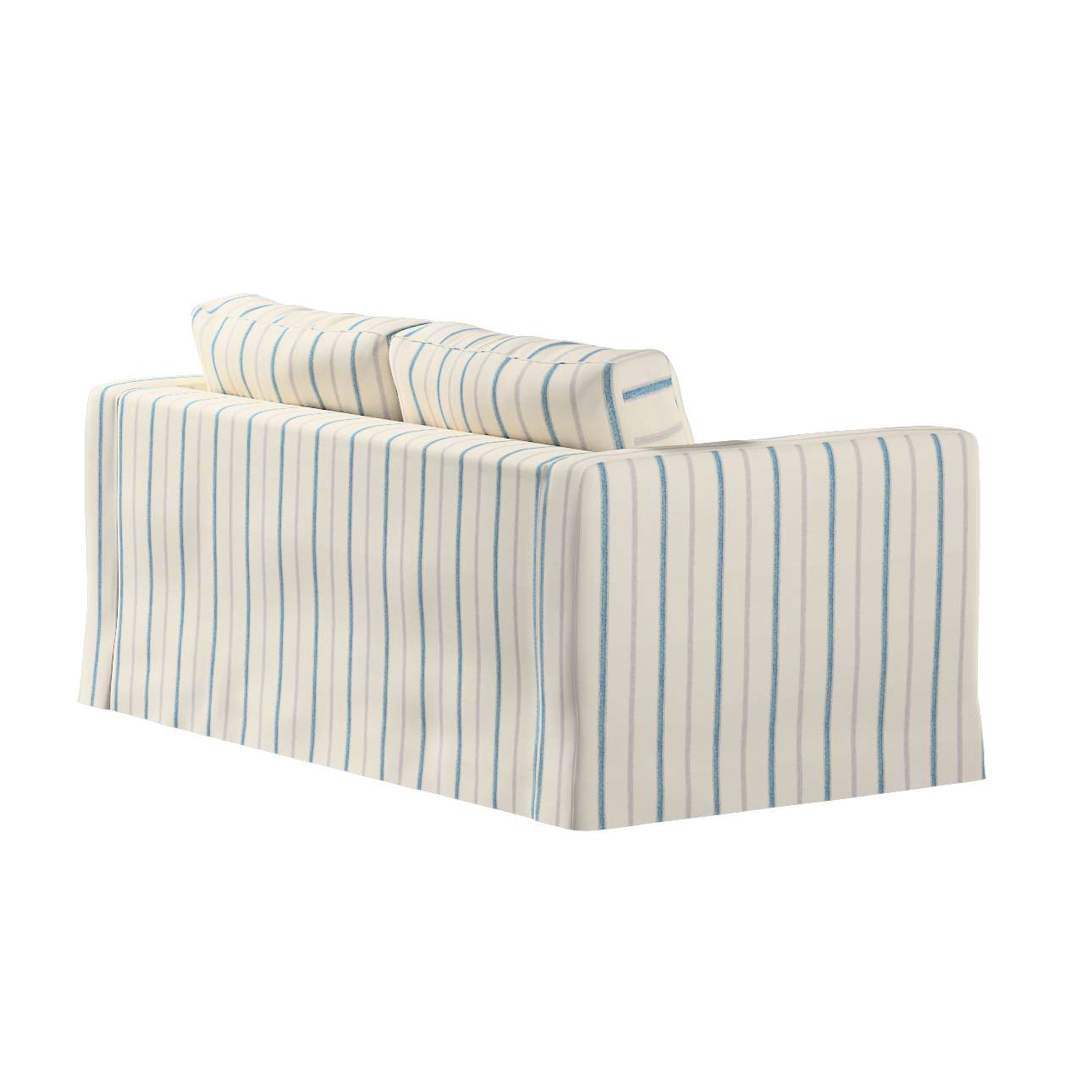 Pokrowiec na sofę Karlstad 2-osobową nierozkładaną długi w kolekcji Avinon, tkanina: 129-66