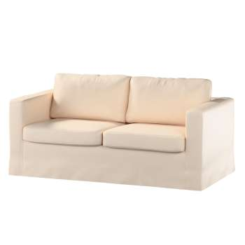 Floor length Karlstad 2-seater sofa cover in collection Madrid, fabric: 160-51