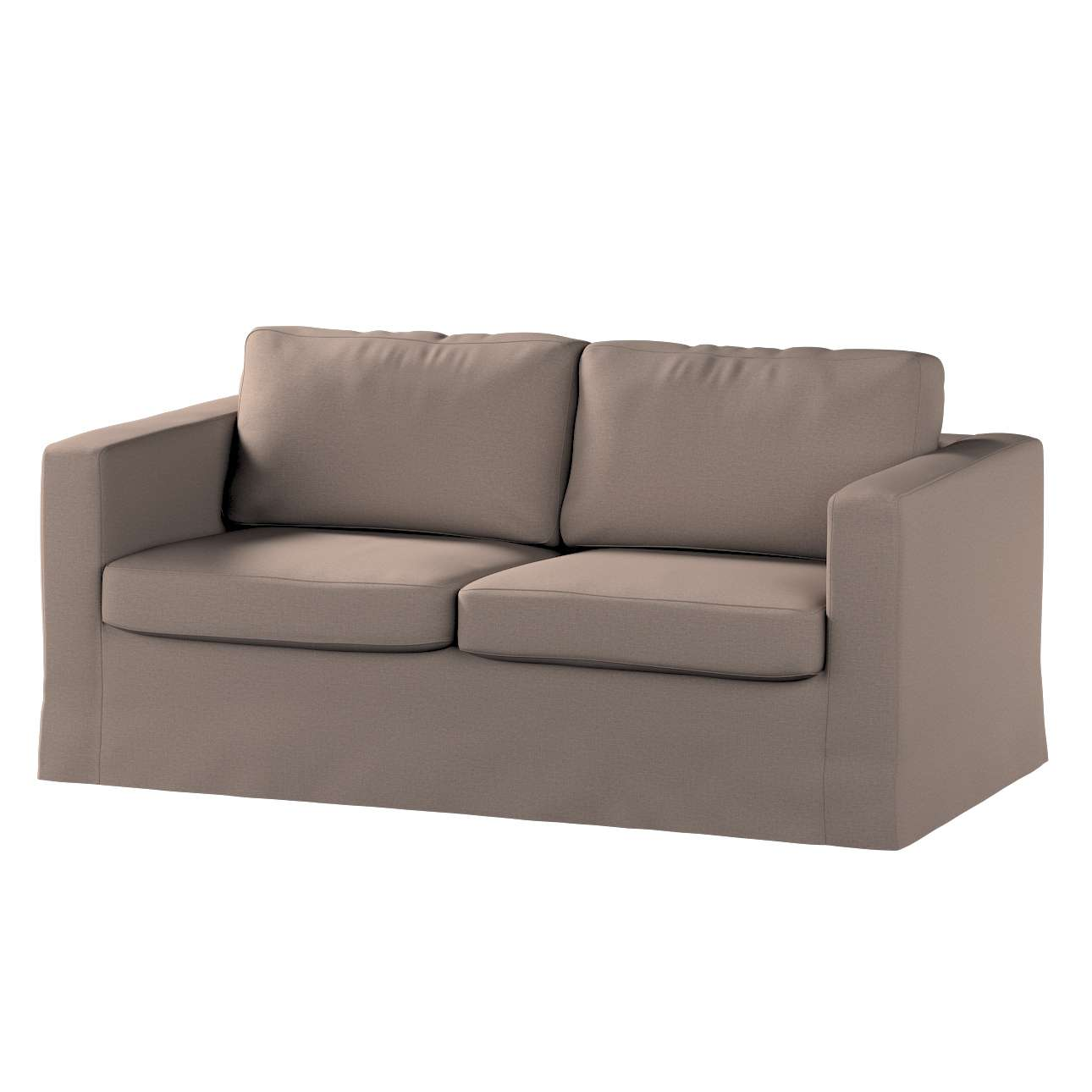 Floor length Karlstad 2-seater sofa cover in collection Living, fabric: 160-16