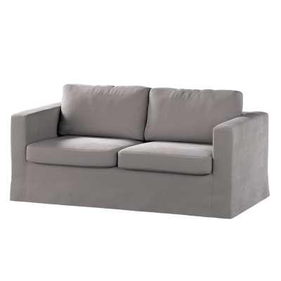 Pokrowiec na sofę Karlstad 2-osobową nierozkładaną długi w kolekcji Velvet, tkanina: 704-11