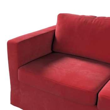 Pokrowiec na sofę Karlstad 2-osobową nierozkładaną długi w kolekcji Velvet, tkanina: 704-15