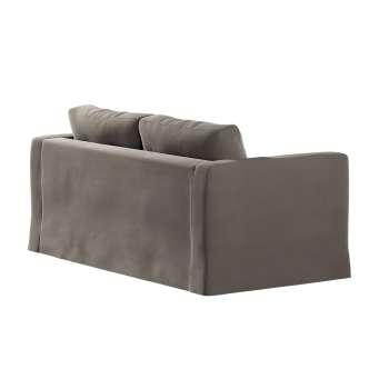 Floor length Karlstad 2-seater sofa cover in collection Velvet, fabric: 704-19