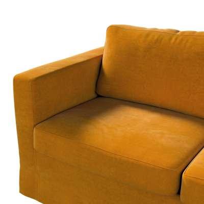 Pokrowiec na sofę Karlstad 2-osobową nierozkładaną długi w kolekcji Velvet, tkanina: 704-23