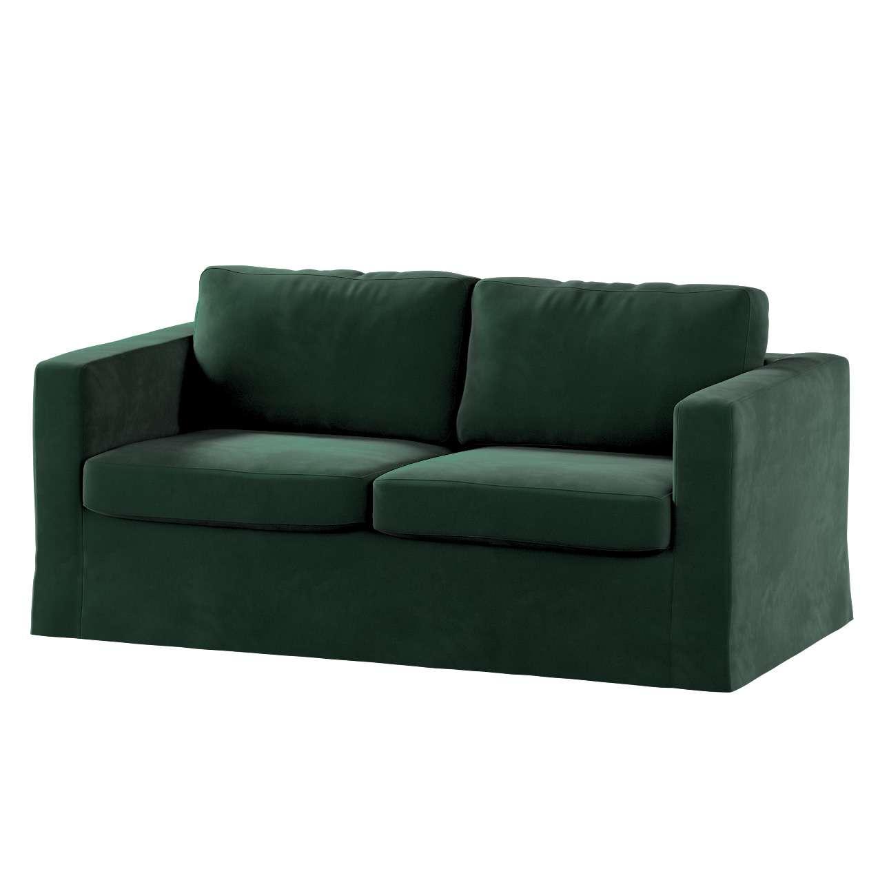 Hoes (lang) voor IKEA-Karlstad 2-zitsbank van de collectie Velvet, Stof: 704-25