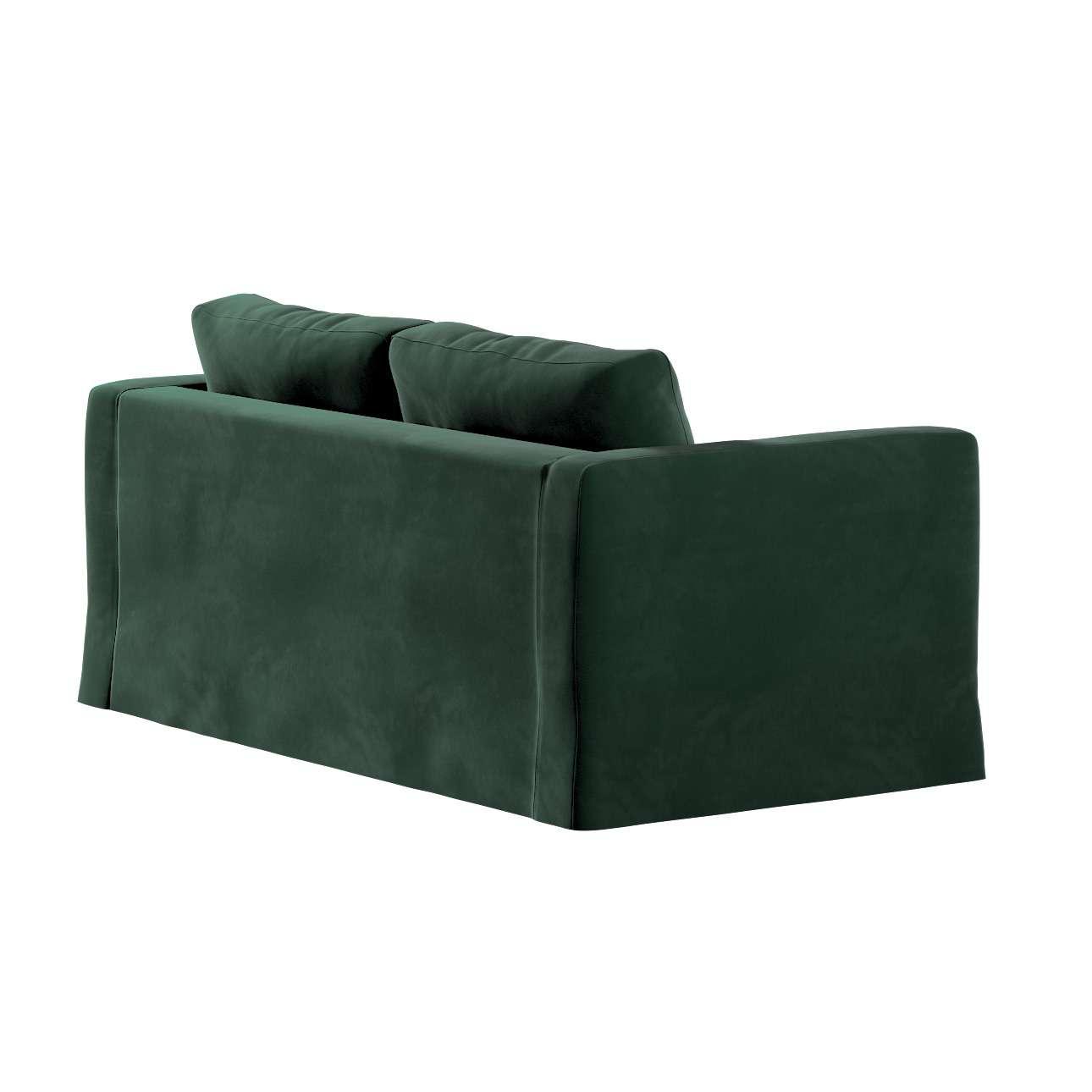 Pokrowiec na sofę Karlstad 2-osobową nierozkładaną długi w kolekcji Velvet, tkanina: 704-25