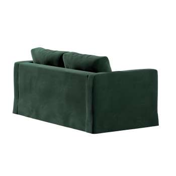 Floor length Karlstad 2-seater sofa cover in collection Velvet, fabric: 704-25
