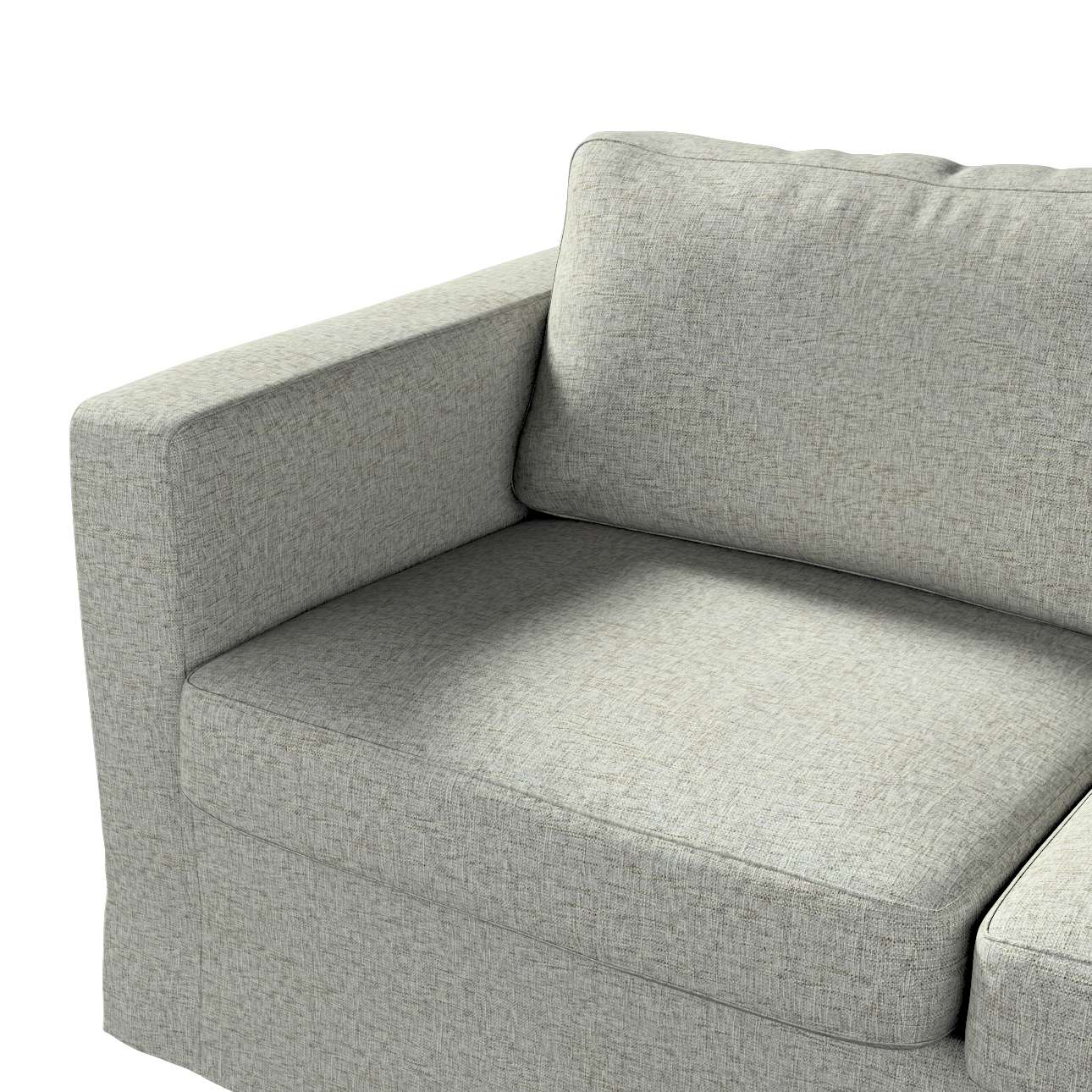 Floor length Karlstad 2-seater sofa cover in collection Living, fabric: 106-96