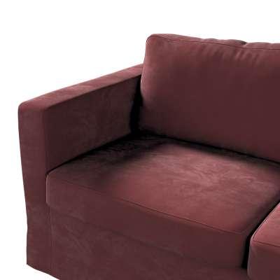 Pokrowiec na sofę Karlstad 2-osobową nierozkładaną długi w kolekcji Velvet, tkanina: 704-26