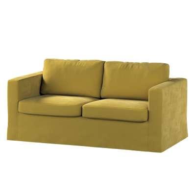 Hoes (lang) voor IKEA-Karlstad 2-zitsbank van de collectie Velvet, Stof: 704-27