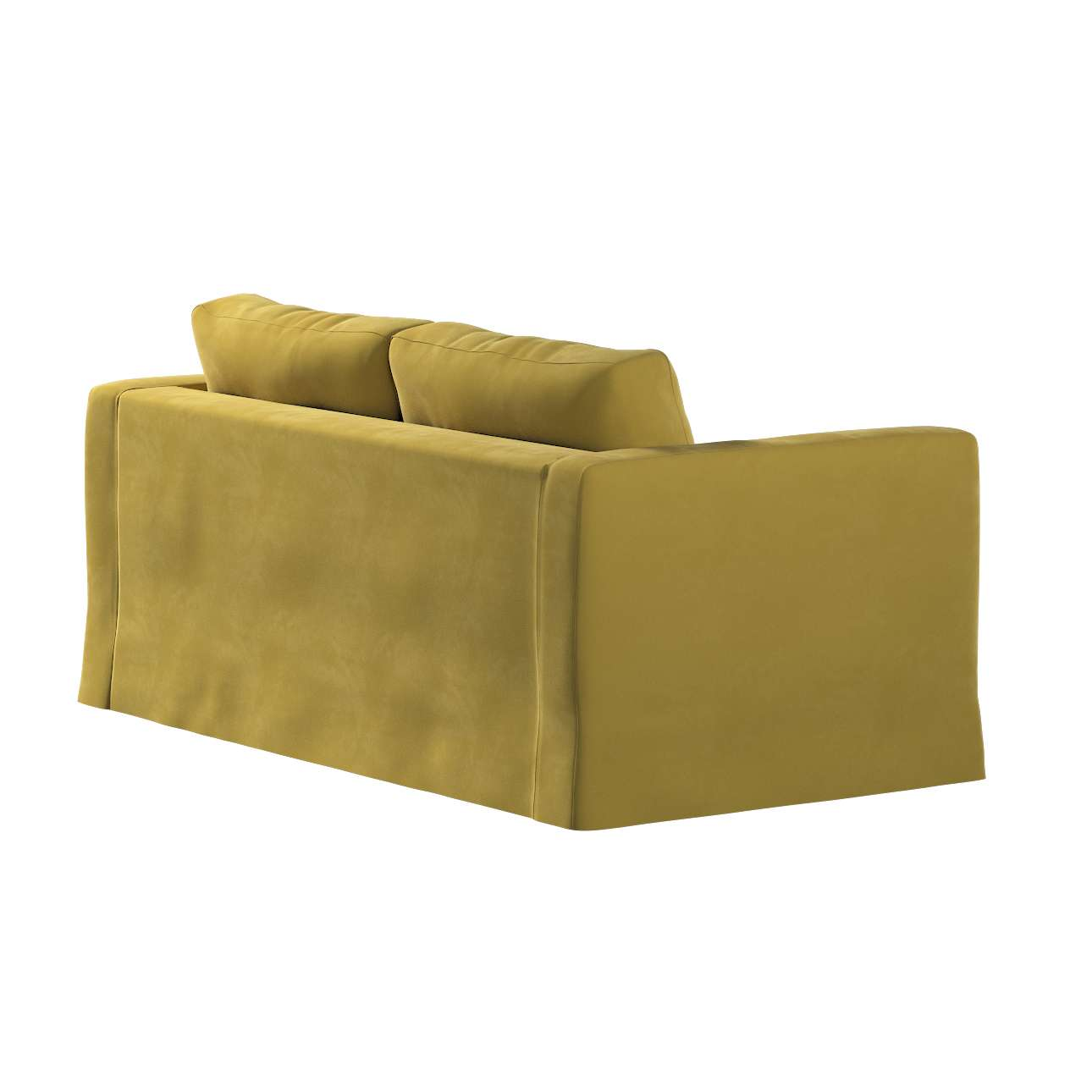 Pokrowiec na sofę Karlstad 2-osobową nierozkładaną długi w kolekcji Velvet, tkanina: 704-27