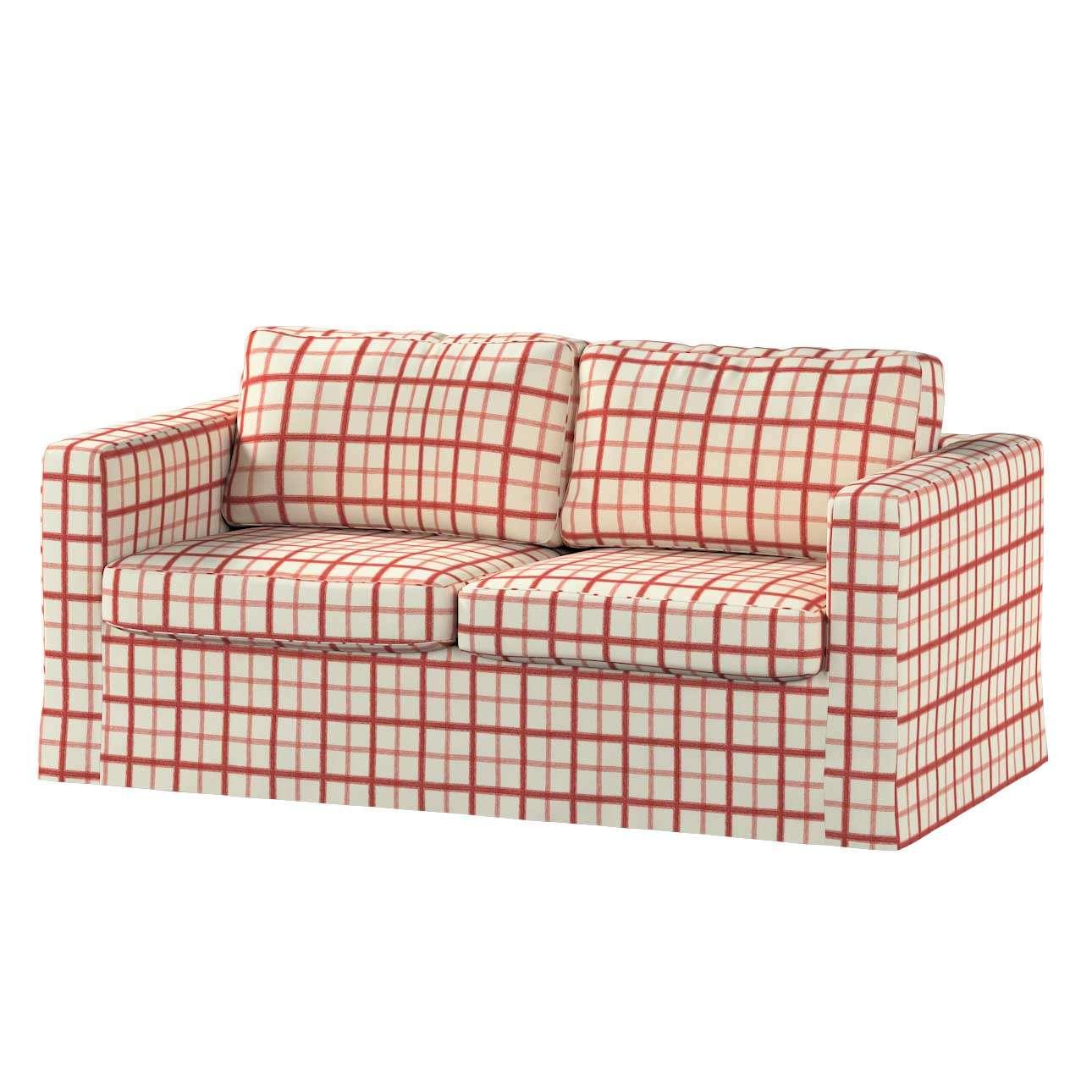 Pokrowiec na sofę Karlstad 2-osobową nierozkładaną długi Sofa Karlstad 2-osobowa w kolekcji Avinon, tkanina: 131-15