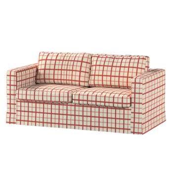 Karlstad 2-Sitzer Sofabezug nicht ausklappbar lang von der Kollektion Avinon, Stoff: 131-15