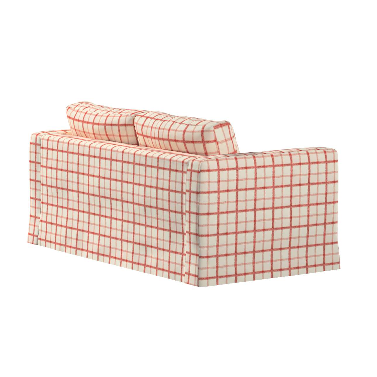 Pokrowiec na sofę Karlstad 2-osobową nierozkładaną długi w kolekcji Avinon, tkanina: 131-15