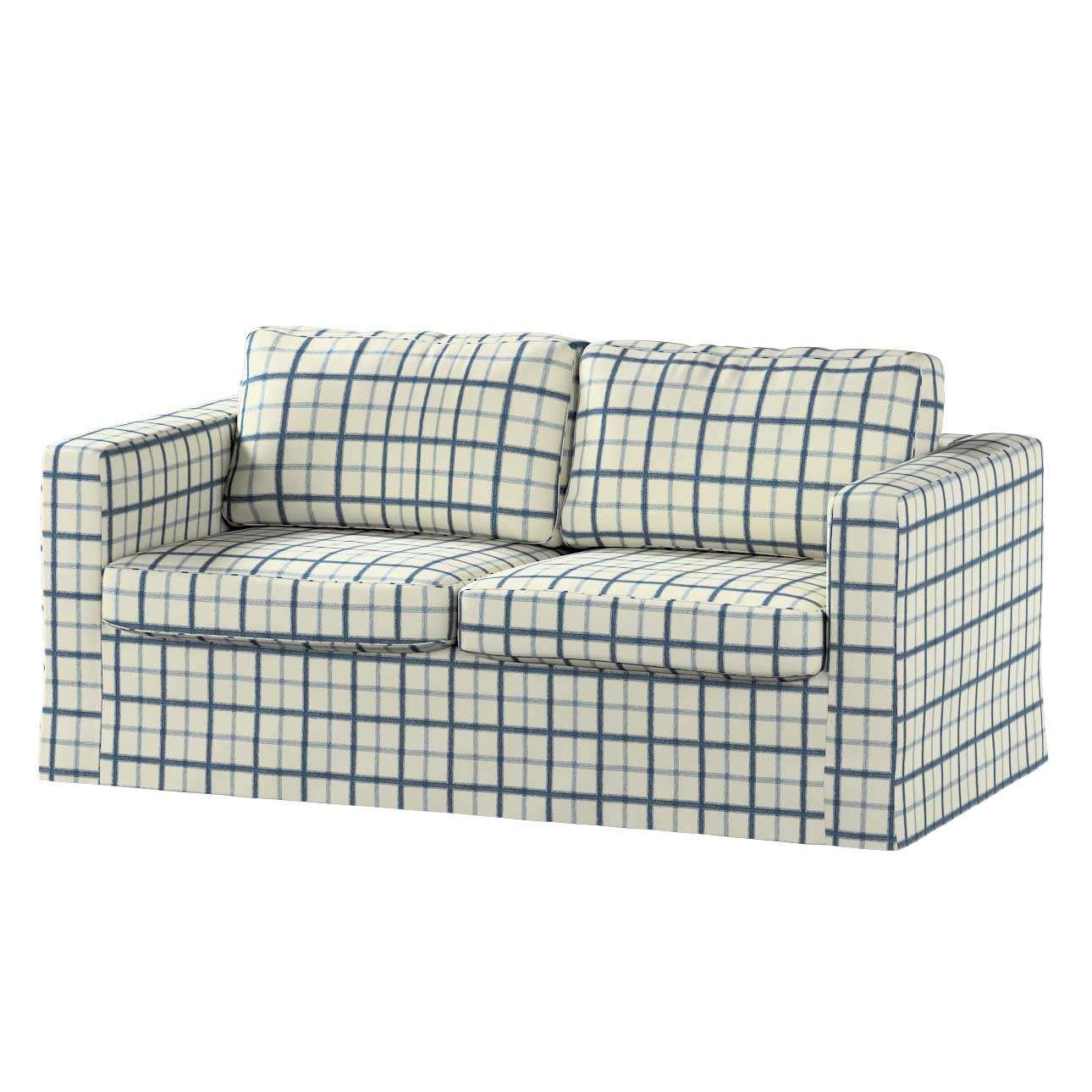 Karlstad dvivietės sofos užvalkalas (ilgas, iki žemės) Karlstad dvivietė sofa kolekcijoje Avinon, audinys: 131-66
