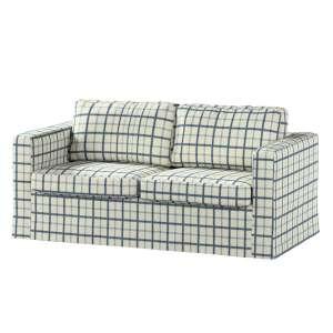Pokrowiec na sofę Karlstad 2-osobową nierozkładaną długi Sofa Karlstad 2-osobowa w kolekcji Avinon, tkanina: 131-66