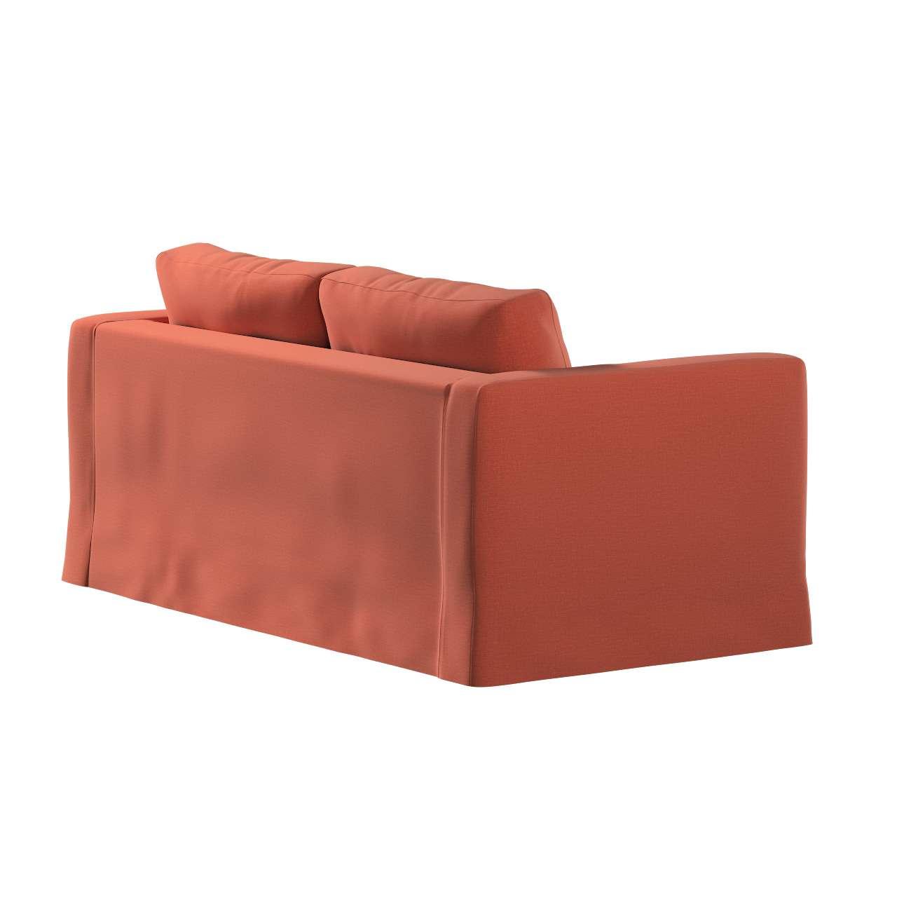 Pokrowiec na sofę Karlstad 2-osobową nierozkładaną długi w kolekcji Ingrid, tkanina: 705-37