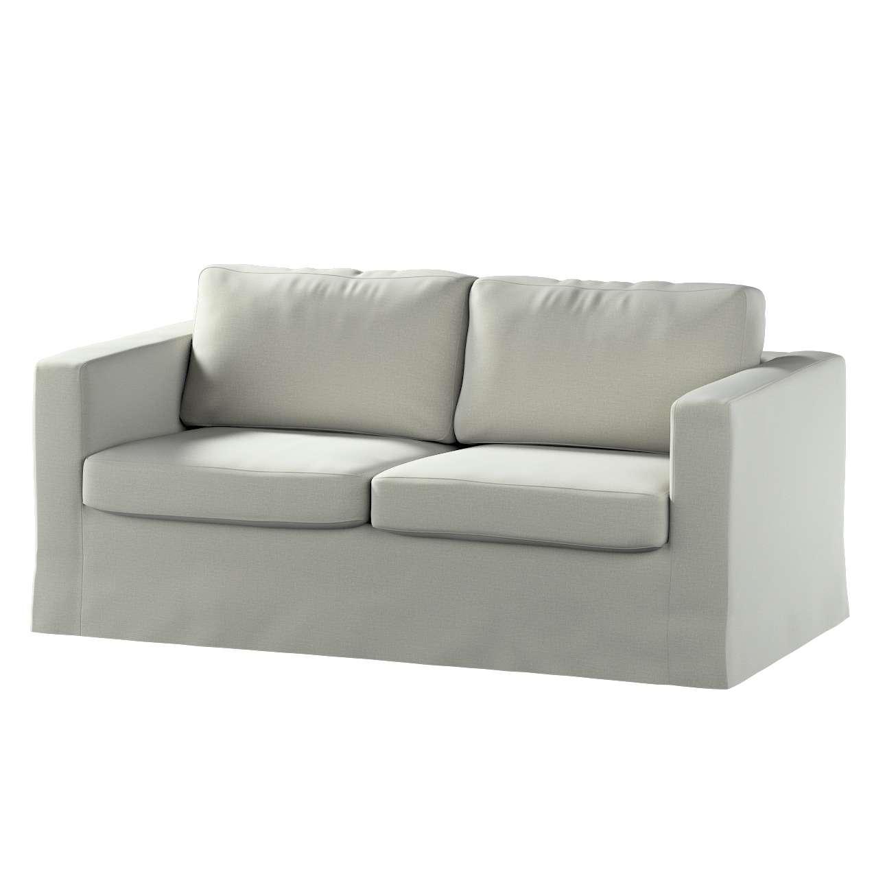 Pokrowiec na sofę Karlstad 2-osobową nierozkładaną długi w kolekcji Ingrid, tkanina: 705-41