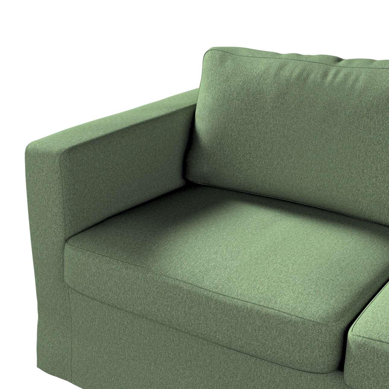 Pokrowiec na sofę Karlstad 2-osobową nierozkładaną długi w kolekcji Amsterdam, tkanina: 704-44