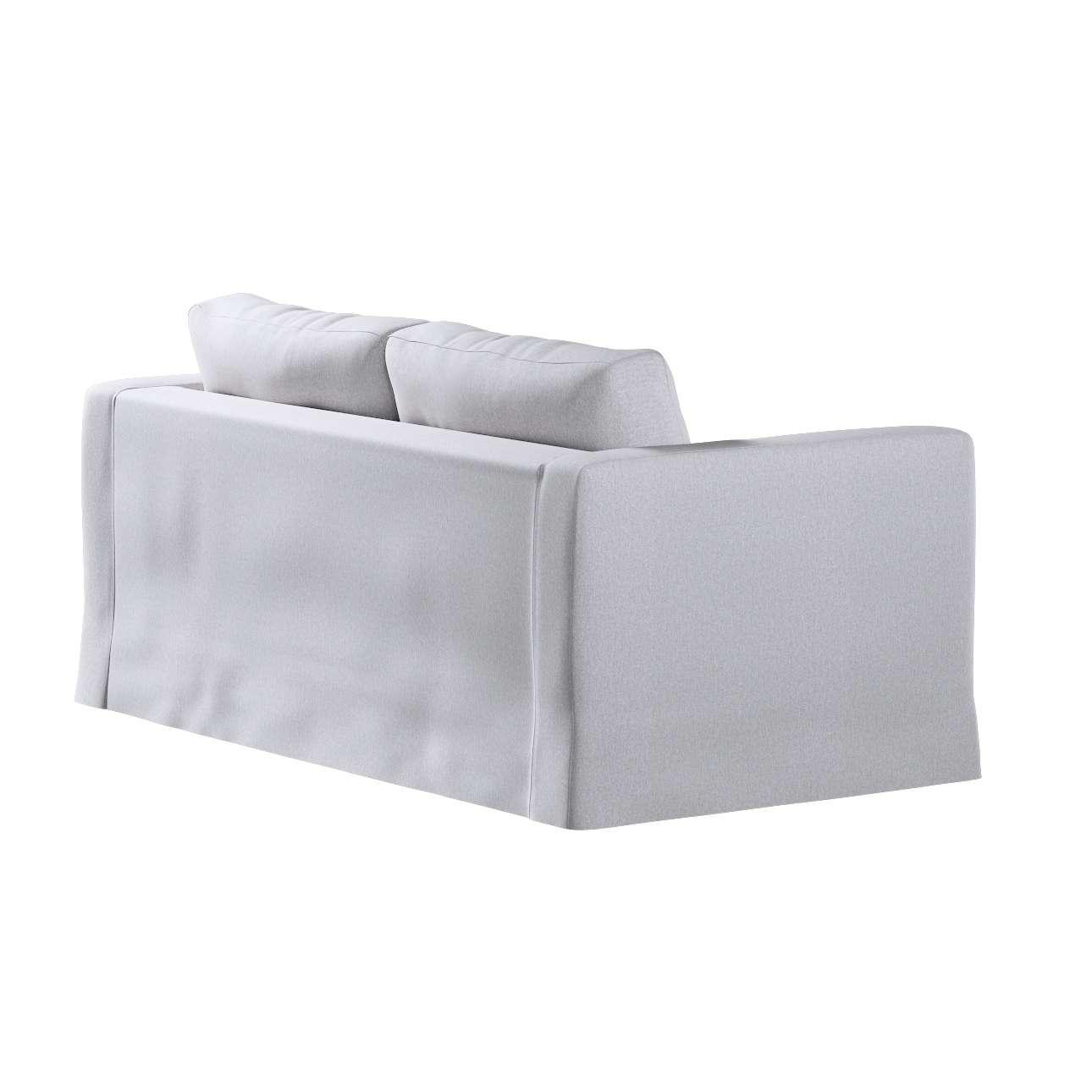 Pokrowiec na sofę Karlstad 2-osobową nierozkładaną długi w kolekcji Amsterdam, tkanina: 704-45