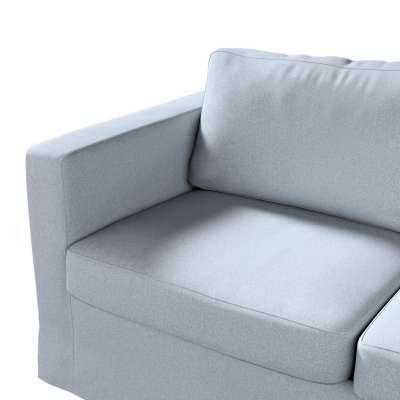 Pokrowiec na sofę Karlstad 2-osobową nierozkładaną długi w kolekcji Amsterdam, tkanina: 704-46