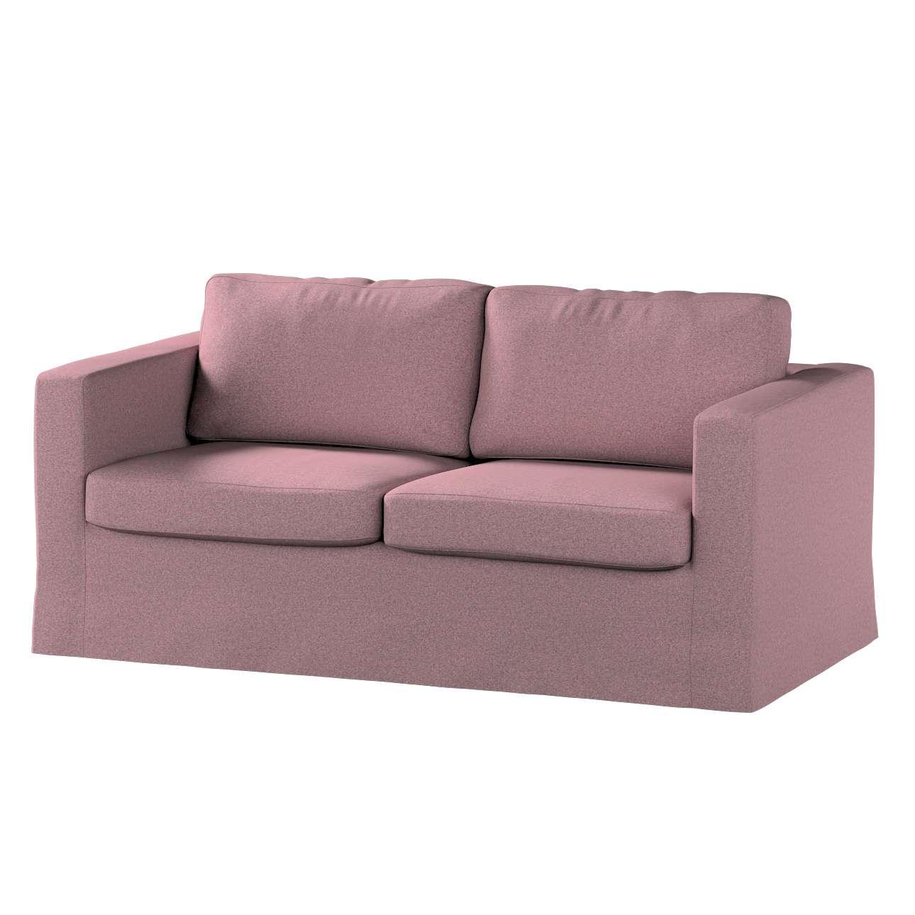 Pokrowiec na sofę Karlstad 2-osobową nierozkładaną długi w kolekcji Amsterdam, tkanina: 704-48