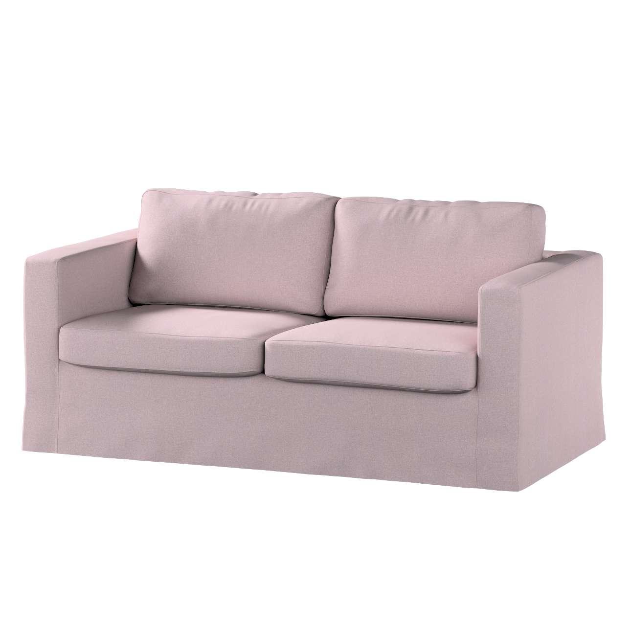 Pokrowiec na sofę Karlstad 2-osobową nierozkładaną długi w kolekcji Amsterdam, tkanina: 704-51