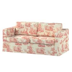 Karlstad 2-Sitzer Sofabezug nicht ausklappbar lang Sofahusse, Karlstad 2-Sitzer von der Kollektion Avinon, Stoff: 132-15