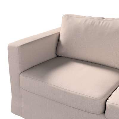 Pokrowiec na sofę Karlstad 2-osobową nierozkładaną długi w kolekcji Living, tkanina: 160-85