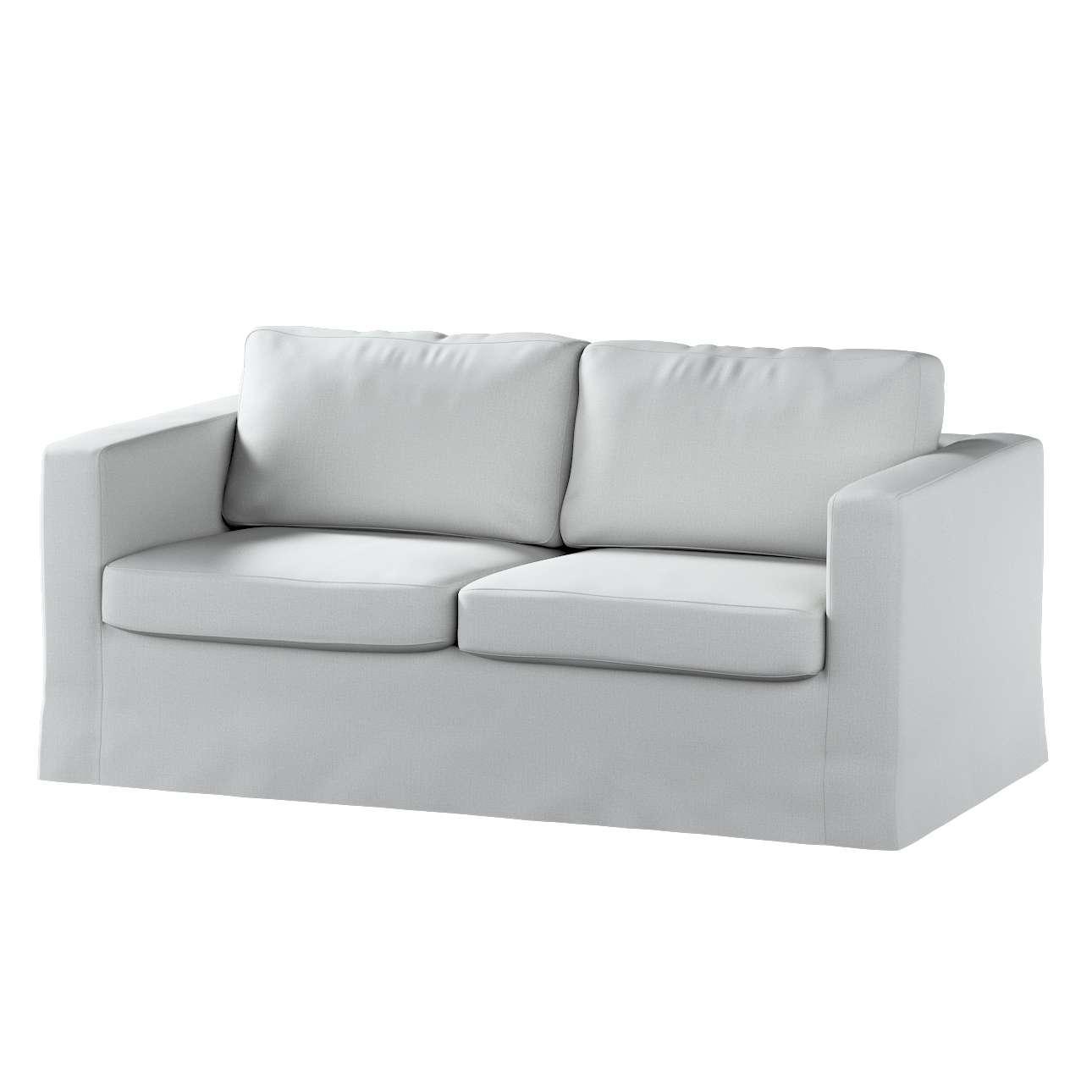 Pokrowiec na sofę Karlstad 2-osobową nierozkładaną długi w kolekcji Living, tkanina: 161-18