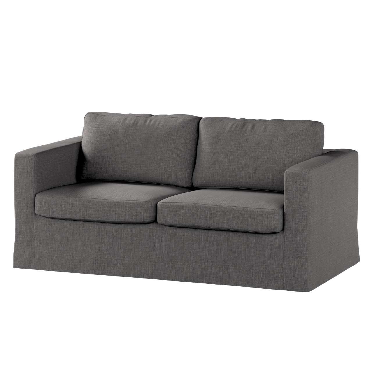 Pokrowiec na sofę Karlstad 2-osobową nierozkładaną długi w kolekcji Living, tkanina: 161-16
