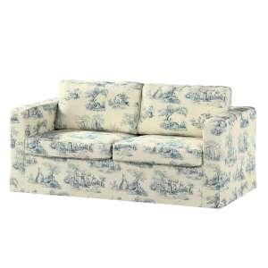 Karlstad dvivietės sofos užvalkalas (ilgas, iki žemės) Karlstad dvivietė sofa kolekcijoje Avinon, audinys: 132-66
