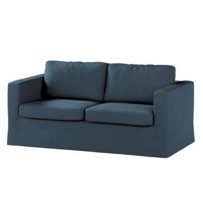 Pokrowiec na sofę Karlstad 2-osobową nierozkładaną długi w kolekcji Etna, tkanina: 705-30