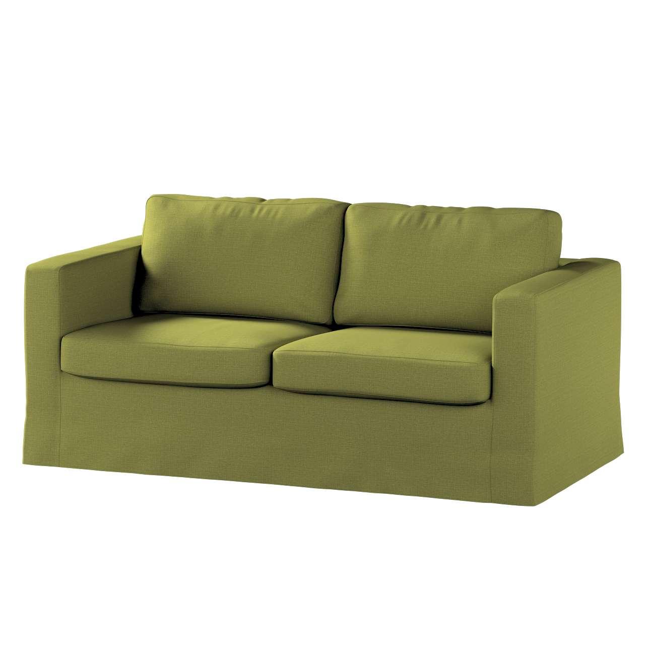 Pokrowiec na sofę Karlstad 2-osobową nierozkładaną długi w kolekcji Living, tkanina: 161-13