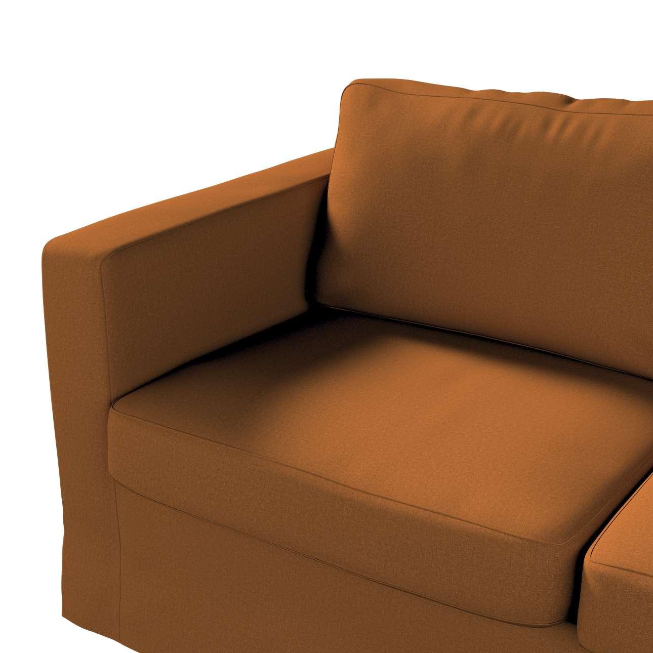 Pokrowiec na sofę Karlstad 2-osobową nierozkładaną długi w kolekcji Living, tkanina: 161-28