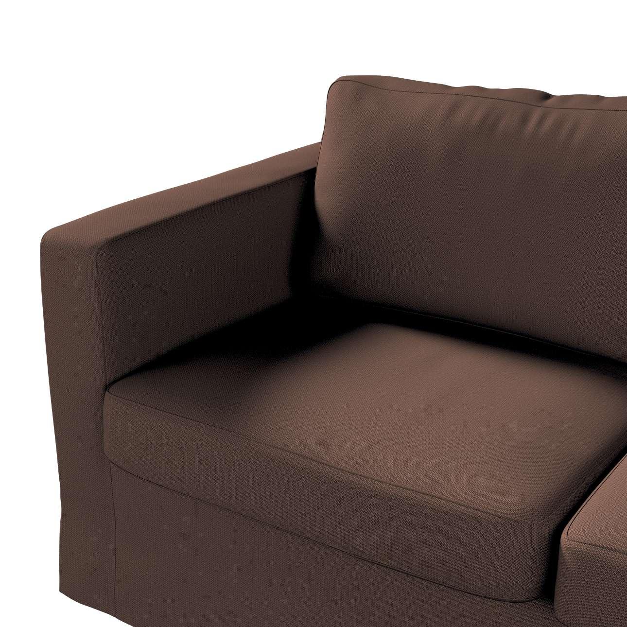 Pokrowiec na sofę Karlstad 2-osobową nierozkładaną długi w kolekcji Bergen, tkanina: 161-73