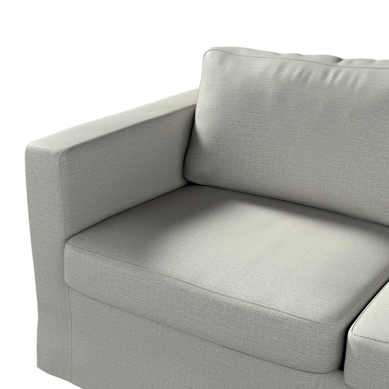 Pokrowiec na sofę Karlstad 2-osobową nierozkładaną długi w kolekcji Bergen, tkanina: 161-83