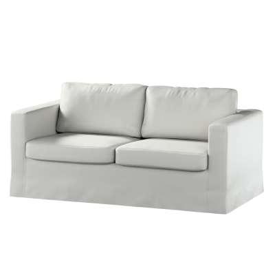 Pokrowiec na sofę Karlstad 2-osobową nierozkładaną długi 161-84 srebrno-szara jodełka Kolekcja Bergen
