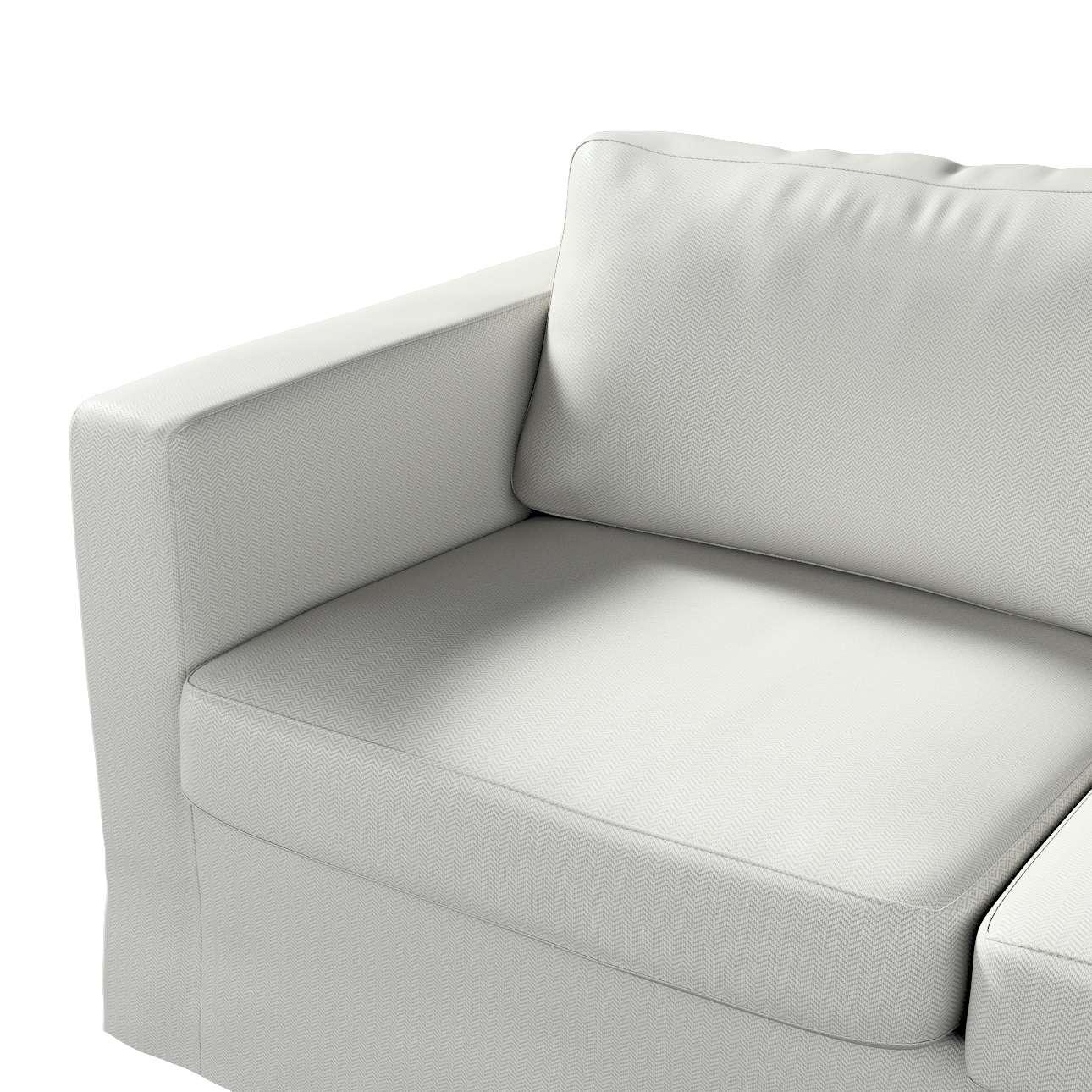 Pokrowiec na sofę Karlstad 2-osobową nierozkładaną długi w kolekcji Bergen, tkanina: 161-84