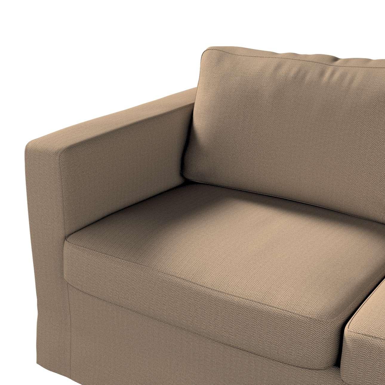 Pokrowiec na sofę Karlstad 2-osobową nierozkładaną długi w kolekcji Bergen, tkanina: 161-85