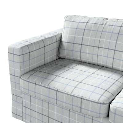 Pokrowiec na sofę Karlstad 2-osobową nierozkładaną długi w kolekcji Edinburgh, tkanina: 703-18