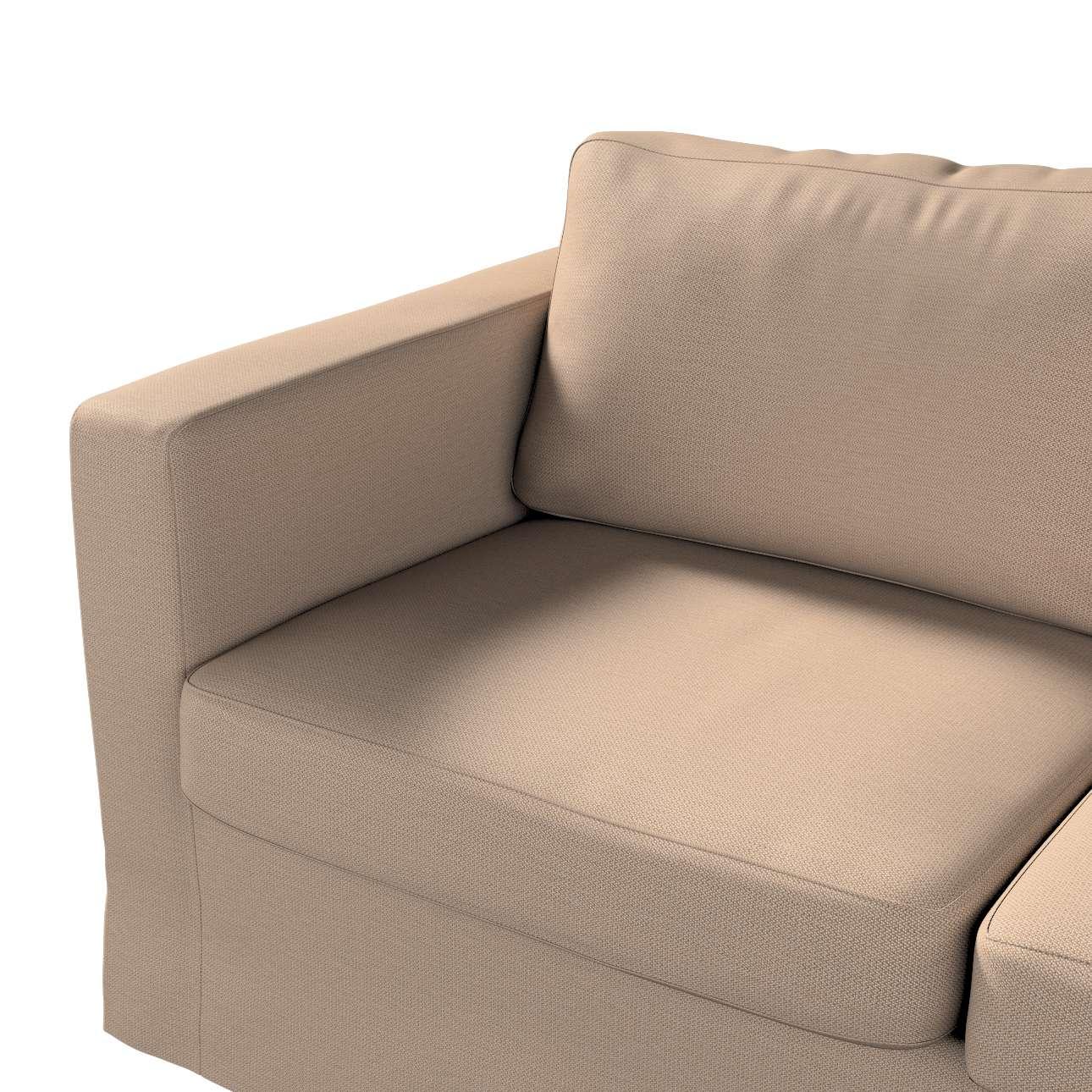 Pokrowiec na sofę Karlstad 2-osobową nierozkładaną długi w kolekcji Bergen, tkanina: 161-75