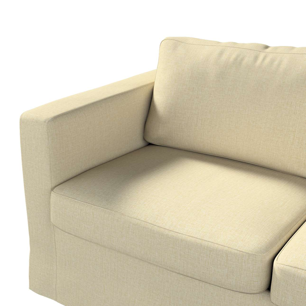 Pokrowiec na sofę Karlstad 2-osobową nierozkładaną długi w kolekcji Living, tkanina: 161-45