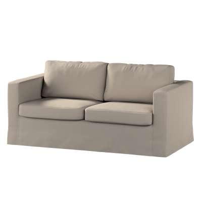 Pokrowiec na sofę Karlstad 2-osobową nierozkładaną długi 161-53 ciepły szary Kolekcja Living