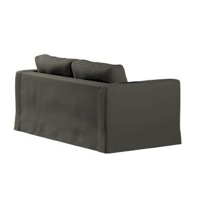 Pokrowiec na sofę Karlstad 2-osobową nierozkładaną długi 161-55 ciemny szary Kolekcja Living