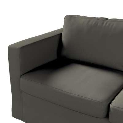 Pokrowiec na sofę Karlstad 2-osobową nierozkładaną długi w kolekcji Living, tkanina: 161-55
