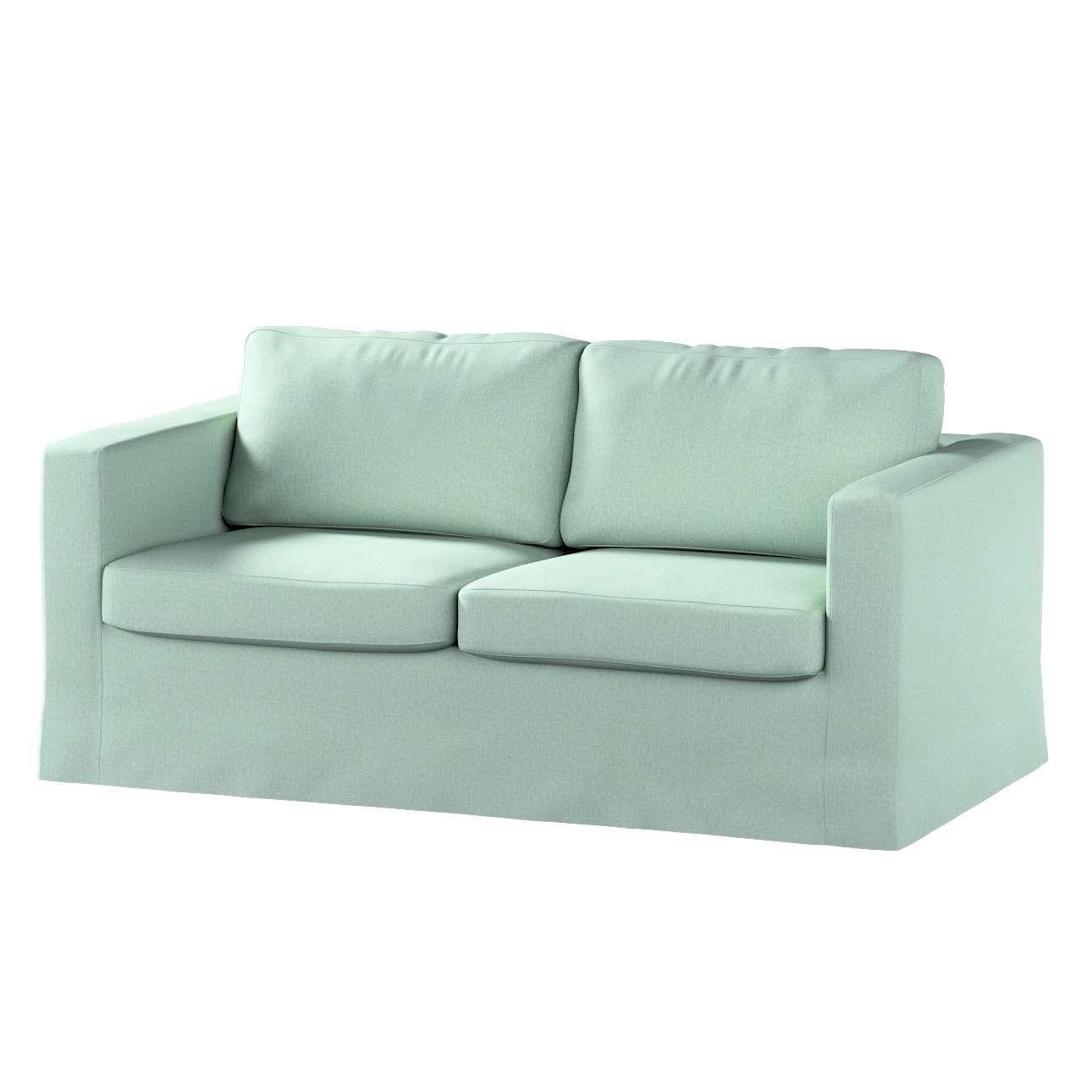 Pokrowiec na sofę Karlstad 2-osobową nierozkładaną długi w kolekcji Living, tkanina: 161-61