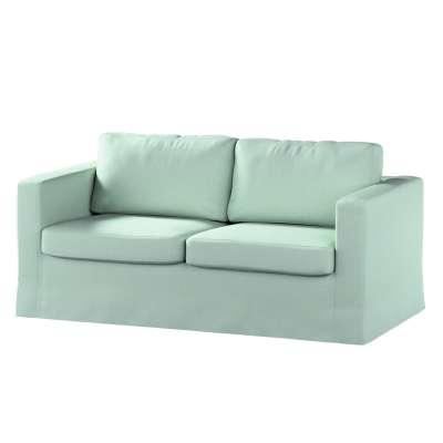 Pokrowiec na sofę Karlstad 2-osobową nierozkładaną długi 161-61 pastelowy błękit Kolekcja Living