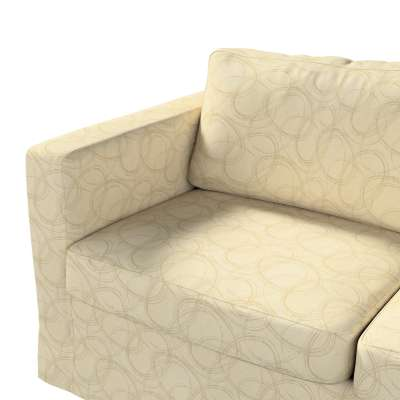Pokrowiec na sofę Karlstad 2-osobową nierozkładaną długi w kolekcji Living, tkanina: 161-81