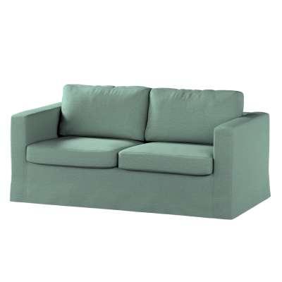 Pokrowiec na sofę Karlstad 2-osobową nierozkładaną długi w kolekcji Madrid, tkanina: 161-89